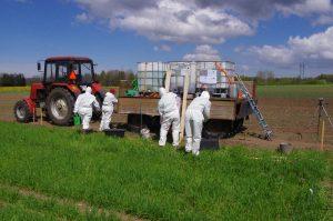 Estonian field trial